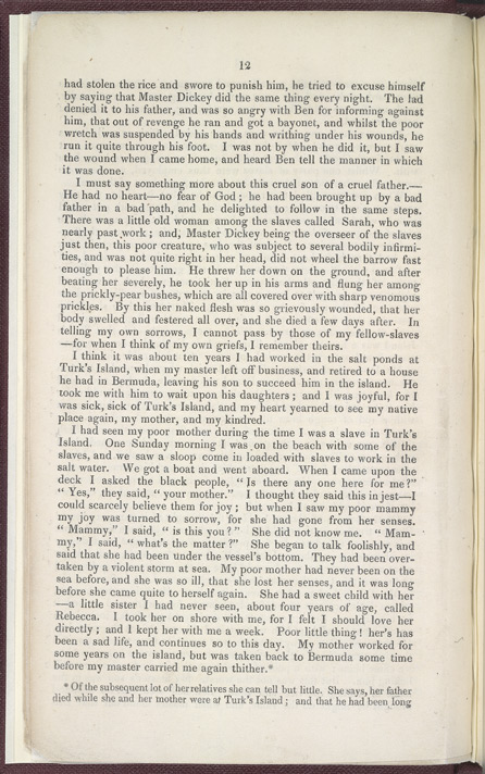 The History of Mary Prince, A West Indian Slave -Page 12